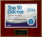 Top 10 Doctor 2014 Award