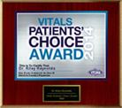 Vitals Patients Choice Award 2014