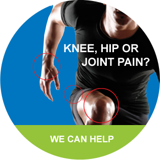 Hip, knee, or joint pain